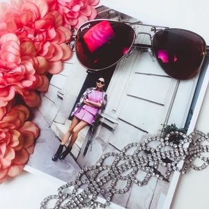 Accessories - NWT Raspberry Red Sunnies